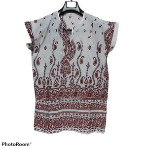 *3/$85* tunic shirt loose soft airy summer hippie